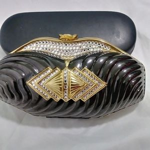 Evening Bag black and gold